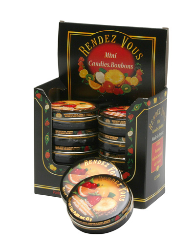 Rendez Vous Mixed Fruit Caddy with Tins